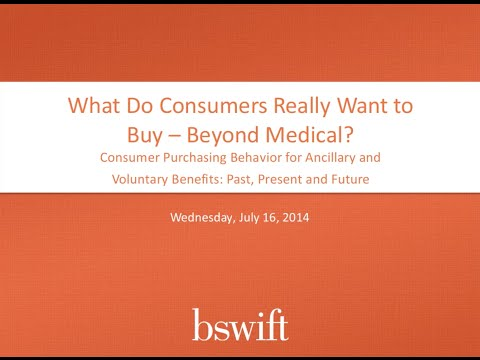 What Do Consumers Really Want to Buy -- Beyond Medical?