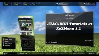JTAG/RGH Tutorials #1 Installing XeXMenu v1.2