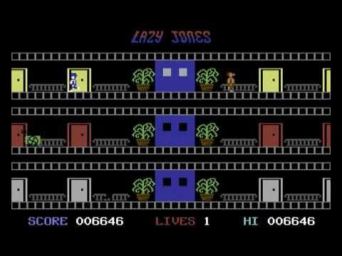 C64 Longplay - Lazy Jones (Complete)