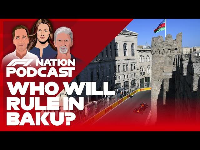 Who Will Rule Baku? Azerbaijan GP Preview With Daniil Kvyat And Frederic Vasseur   F1 Nation Podcast