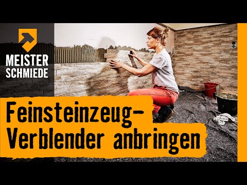feinsteinzeug verblender anbringen hornbach meisterschmiede youtube. Black Bedroom Furniture Sets. Home Design Ideas