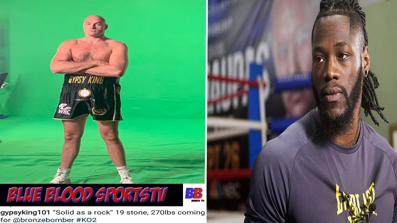 Tyson Fury the ultimate self promoter ahead of Wilder rematch