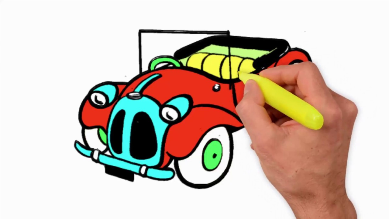 Coloring Pages-Toys Car Coloring For Kids - toy race car coloring ...