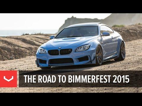 BMW 650i   Prior Design   Vossen Road To Bimmerfest 2015