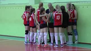 Волейбол. Девушки. Игра Иваново -  Москва (Бауманка)
