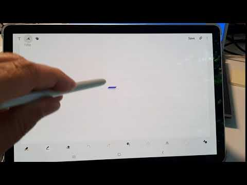 Samsung Tab S4 S Pen issue