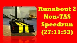 Runabout 2 non tas speedrun (27:11:53) completed with clear ending with Lisa & no tuning | PS1