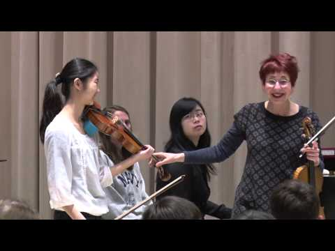 Violin Masterclass with Mimi Zweig on Meditation from Thais