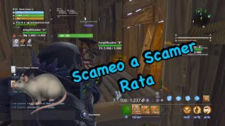 SCAMEO TO SCAMER FOR DEPARTURE OF THE PARTY - FORTNITE Save the World SCAMEANDO SCAMERS
