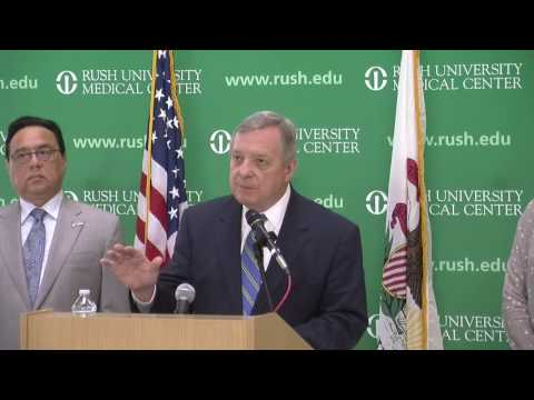 Durbin Discusses New Bill to Combat Heroin and Prescription Opioid Epidemic