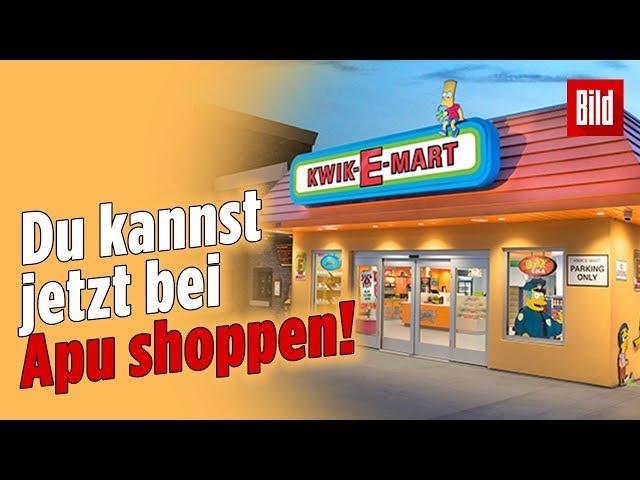 "HIER hat der erste ""Kwik-E-Mart"" eröffnet!"