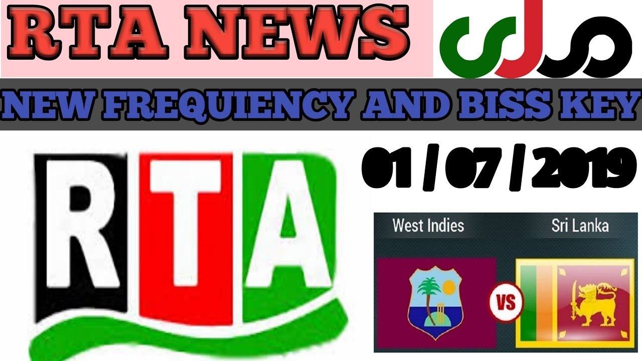 RTA News New Frequency And Biss Key //01/07/2019///TECH UMAR