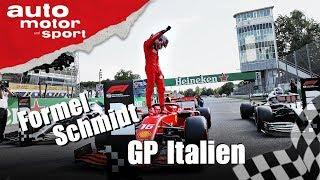 Kämpft Leclerc mit unfairen Mitteln? Formel Schmidt GP Italien 2019 | auto motor und sport
