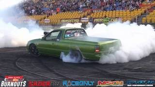 DEATHWISH MODIFIED CLASS WINNER AT GOOD FRYDAY BURNOUTS 2019