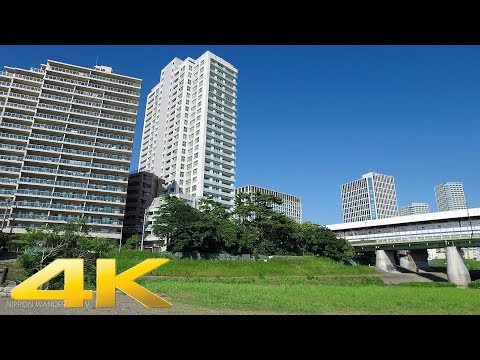 Walking around Futakotamagawa west side, Tokyo - Long Take【東京・二子玉川】 4K