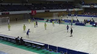《ハンドボール》2019年1月15日  きたえーる 北海道高等学校新人戦 北海道予選会 前半