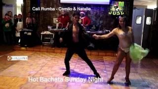 Cali Rumba - Camilo & Natalie @ Hot Bachata Sunday Night
