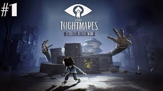 Little Nightmares Secrets of The Maw Chapter 2 Walkthrough Gameplay Part 1 - The Hideaway (PC)