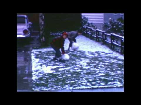 Snow in San Jose - Jan. 21, 1962