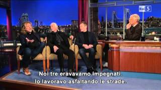 David Letterman Show - Led Zeppelin [3-12-12, SUB ITA]