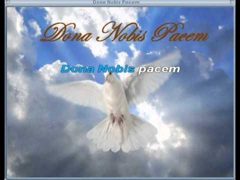 Dona Nobis Pacem (Grant Us Peace)
