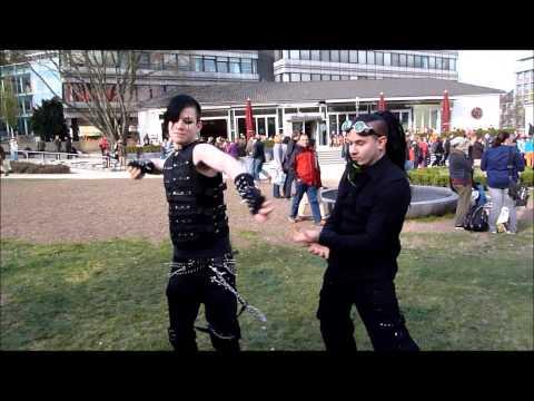 Idiots gone Wild!!! [Terrorizing Aachen (germany)]