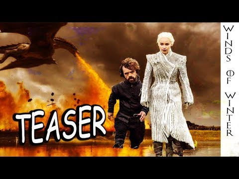 WINDS OF WINTER - Game Of Thrones Teaser Chapter Reading from George RR Martin