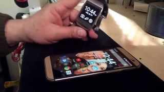 Conectar o Emparejar Samsung Gear con HTC ONE M8