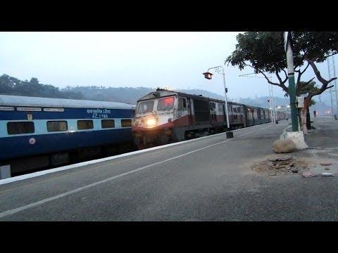 22402 Udhampur - Delhi Sarai Rohilla AC Express Departing Udhampur!!!!!!