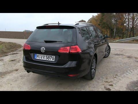 2016 VW Golf VII Variant 1.2 TSI (110 HP) TEST DRIVE