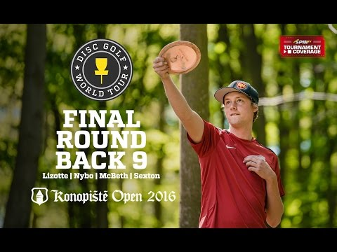 2016 Konopiste Open: Lead Card Final Round, Back 9 (Lizotte, Nybo, McBeth, Sexton)
