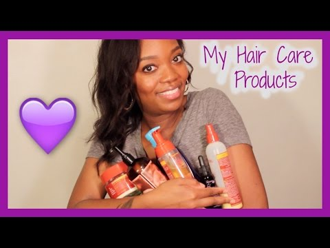 #215: ALL MY HAIR CARE PRODUCTS