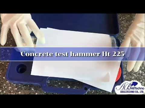 เครื่องทดสอบความแข็งแรงของคอนกรีต Concrete Test Hammer รุ่น