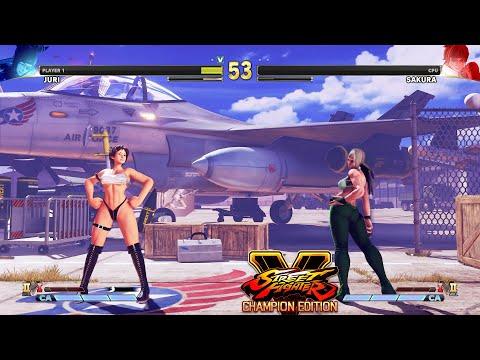 Street Fighter V CE Juri vs Sakura PC Mod |