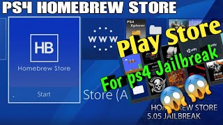 Ps4 jailbreak | Homebrew store Tutorial