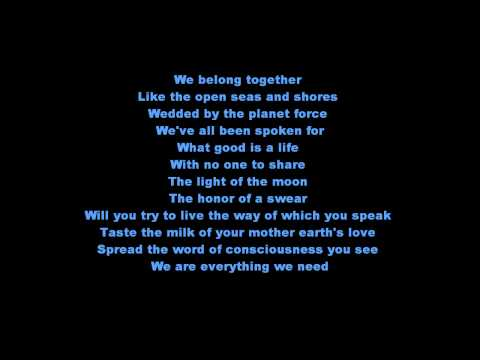 Gavin DeGraw - We belong together lyrics