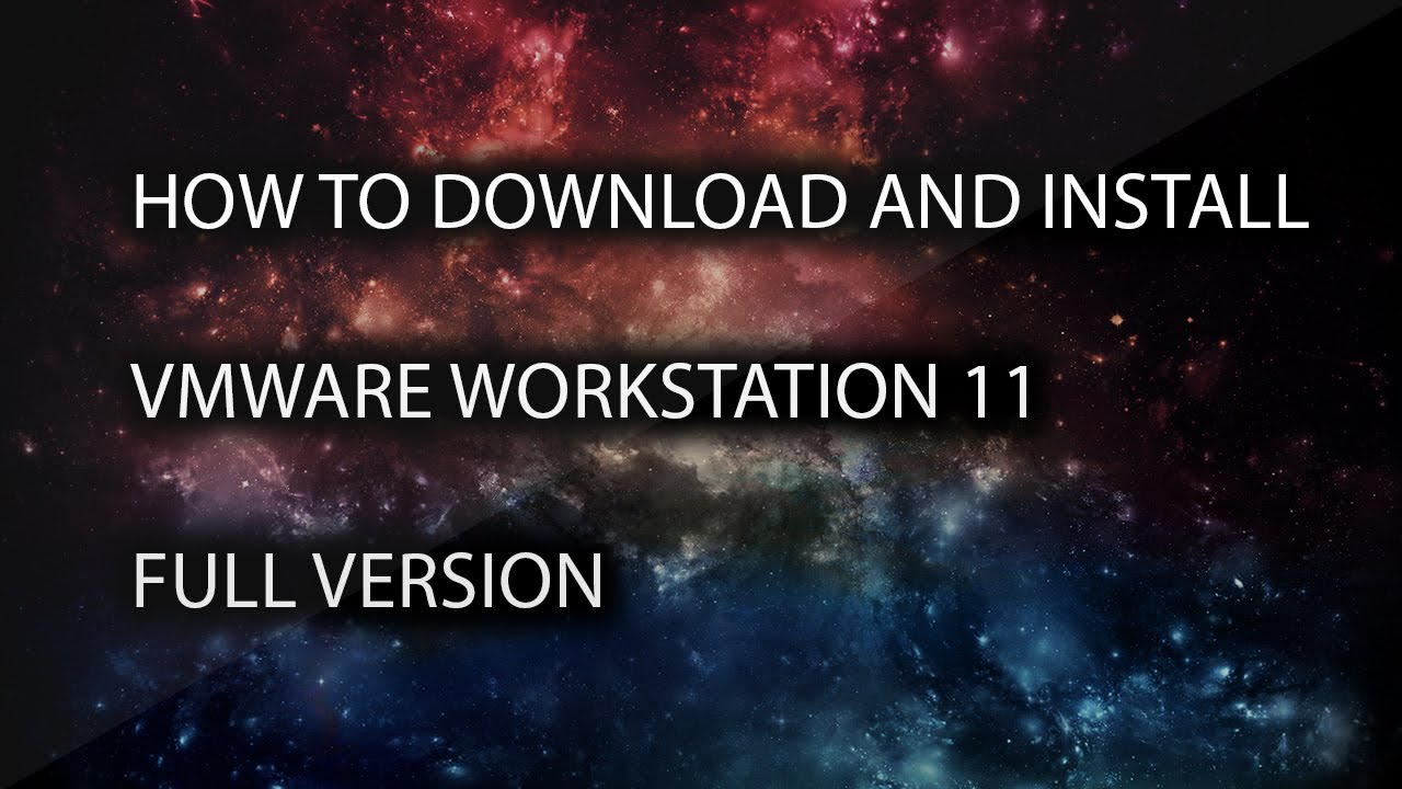 vmware workstation 11 full download
