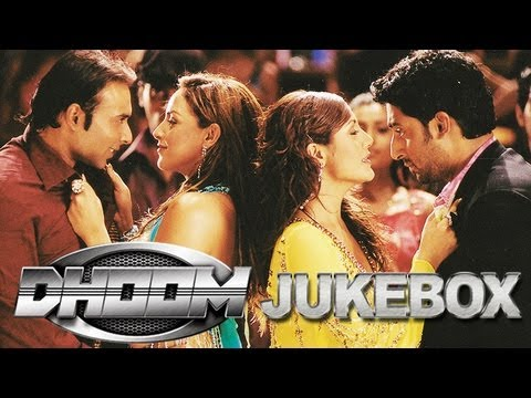 Dhoom Audio Jukebox  Full Songs  John Abraham  Abhishek Bachchan  Uday Chopra  Esha  Rimi