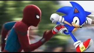 sonic the hedgehog fan made trailer spiderman homecoming style mash up parody