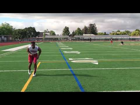 Training Session with LSU DB Terrance Alexander Deliberate Training