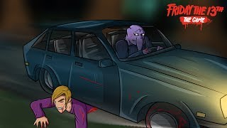 "Video Friday The 13th: The Game | ""Bryce Becomes A Speed Bump"" 