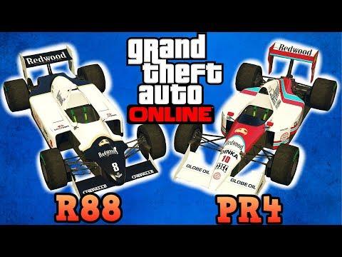 R88 & PR4 Open wheel cars Review! - GTA Online guides