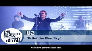 Baixar MTV News - Watch u2 perform new single 'you're the best thing about me' live on 'fallon' - nme