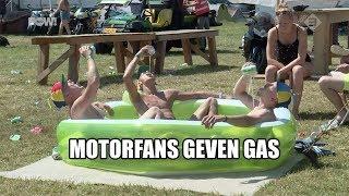 Motorfans geven gas