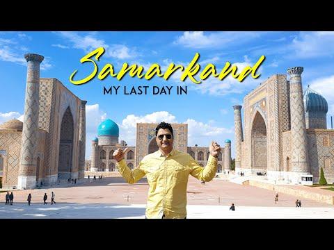 My Final Moments in Samarkand Uzbekistan