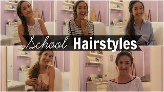 Back to School Hairstyles | 5 Heatless Looks for a Week Thumbnail