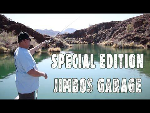 Outside Jimbos Garage Fred Hall Show Fishing Lake