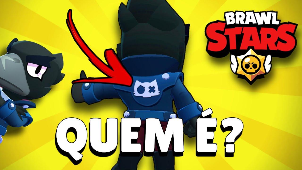 """NOVO MISTÉRIO no BRAWL STARS!! QUEM é ESSE """"BRAWLER"""" na JAQUETA do CROW??!"""