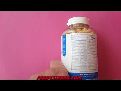 MyProtein Alpha Men Super Multi Vitamin Видео Обзор