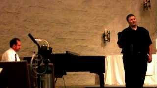 """Matthew Heath - """"The Olive Tree"""" from Kismet"""